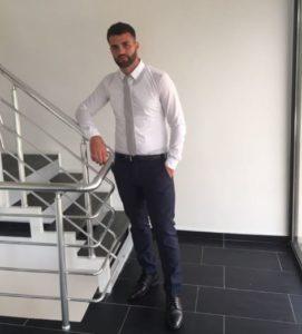 Leotrim Shatraj Geschäftsführer von Leos-Hausmeisterservice